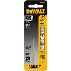 "DeWALT -  5/64""    Cobalt Drill Bit Split Point - DW1205"