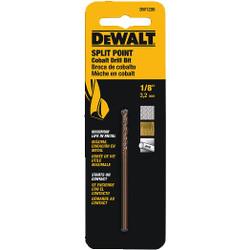 "DeWALT -  1/8""      Cobalt Drill Bit Split Point  - DW1208"