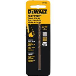 "DeWALT -  3/16""    Cobalt Drill Bit Split Point  - DW1212"