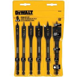 DeWALT -  6 Pc. Spade Bit Set  - DW1587