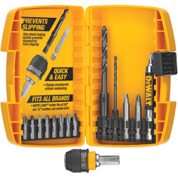 DeWALT -  15 Pc. Rapid Load Set - DW2513