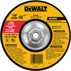 "DeWALT -  7"" x 1/4"" x 5/8""-11"" General Purpose Metal Grinding Wheel - DW4999"