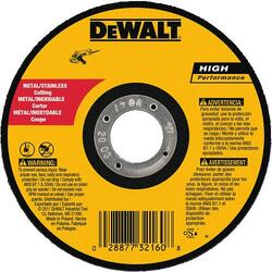 "DeWALT -  5"" x .045"" x 7/8"" A60T Metal Thin Cut-off Wheel -Type 1 - DW8063"