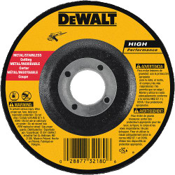 "DeWALT -  4"" x .045"" x 5/8""  Thin Cutting Wheel DCW - DW8420"