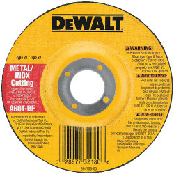 "DeWALT -  6"" x 1/16"" x 7/8"" Thin Cutting Wheel DCW - DW8426"