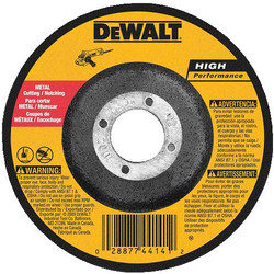 "DeWALT -  5"" x 3/32"" x 7/8""  General Purpose Metal Cutting/Grinding Wheel - DW8752"