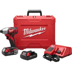 """Milwaukee 2656-22CT - M18™ 1/4"""" HEX IMPACT DRIVER CP KIT"""