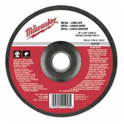 Milwaukee -  GRINDING DISC 6 X 1/4 X 5/8-11 - 49-94-6330