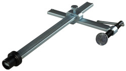 Bessey TWV16-20-15K - Table Clamp, variable, tommy bar, std pad, 16 mm