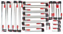 Bessey BTB30KIT - Clamp Kit, small fomatTrademen's 30 pc. Clamp set