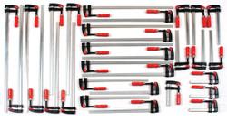 Bessey BTB30KIT - Clamp Kit, small fomatTrademen's 30 pc. Clamp set