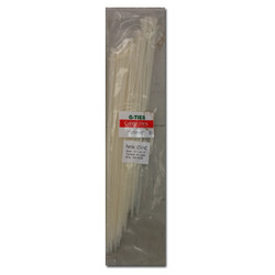 "G - Ties -  CABLE TIE NAT.14.5""X0.14""100PC - GT-014C"