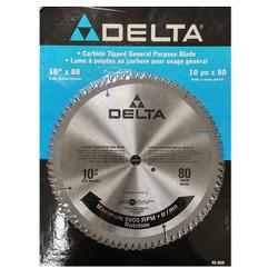 """Delta - SAW BLADE 10"""" 80T - 85-800"""