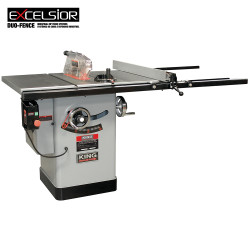 """King - 10"""" Cabinet table saw with 50"""" max rip - KC-10KX/U50"""