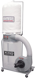 King -  1200 CFM Dust Collector - KC-3105C