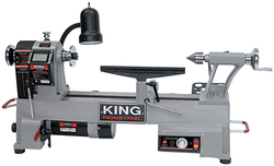 "King Canada - 12"" x 18"" Variable Speed Wood Lathe - KWL-1218VS"