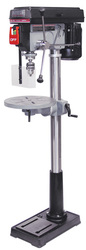 "King - 16 Speed - 17"" Drill Press with Safety Guard - KC-118FC-(LS)"