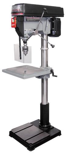 Drill Press Guard >> King 12 Speed 22 Drill Press With Safety Guard Kc 122fc Ls
