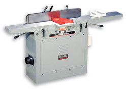 "King - 8"" Industrial Jointer with Spiral Cutterhead - KC-85FX"