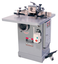 King -  Industrial Woodworking Shaper - KC-351S