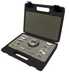 "King - 3/4"" Universal Shaper Cutterhead with 13 Interchangeable Profile Cutter Sets - KW-091"