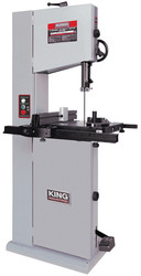"King - 14"" Wood Bandsaw with 12"" Resaw Capacity - KC-1502FXB"