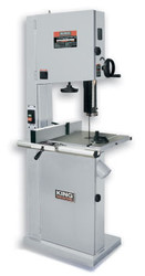 "King - 17"" Wood Bandsaw with Resaw Guide - KC-1702FXB"
