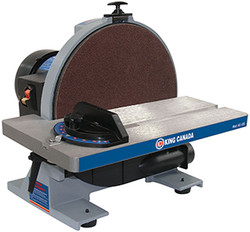 "King -  12"" Disc Sander with Brake - KC-12S"