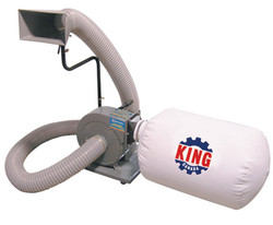 King -  600 CFM Dust Collector - KC-1105C
