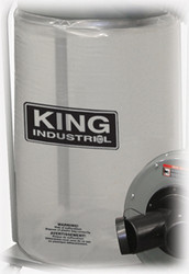King Canada - See Through Plastic Bottom Dust Bag - KDCB-5