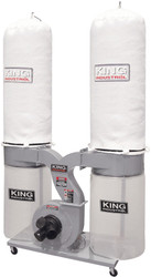 King -  2280 CFM Dust Collector (220V) - KC-4045C