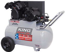King Canada - 5.5 Peak HP 20 Gallon Air Compressor - KC-2051H1