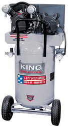 King Canada - 5.5 Peak HP 24 Gallon Air Compressor - KC-3124V1