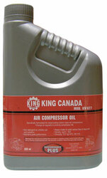 King -  Bottle of Compressor Oil - KW-077