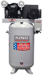 King Canada - High Output 7.5 Peak HP 80 Gallon Air Compressor - KC-7180V3-MS