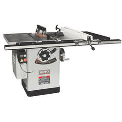 "King -  10"" Extreme Cabinet Saw With Riving Knife Blade Guard System - KC-26FXT/i30/30"