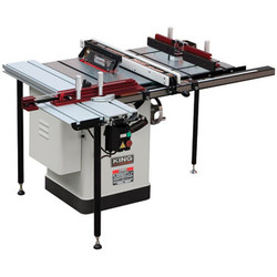 "King -  10"" Extreme Cabinet Saw with Router Table and Sliding Table Attachments - KC-26FXT/i30/Deluxe"
