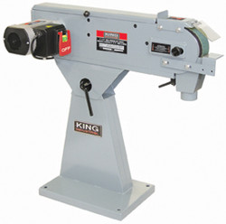 "King - 3"" x 79"" Metal Belt Sander - KC-379MS"