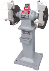 "King -  12"" Heavy-Duty Bench Grinder With Floor Stand - KC-1295"