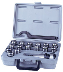 King - 18 Pc. Collet Set - KCS-R8-15