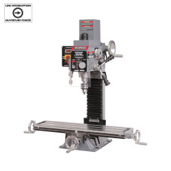 King - MILLING DRILLING MACHINE WITH DIGITAL READOUTS - KC-20VS-2