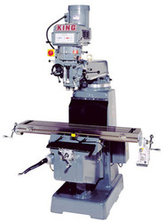"King - Vertical ""Turret"" Milling Machine - 1050VS"