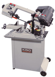 "King - 5"" x 6"" Dual Swivel Metal Cutting Bandsaw - KC-129DS"