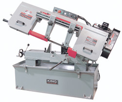 "King - 10"" X 18"" Metal Cutting Bandsaw (230V) - KC-227-2"