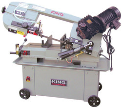 "King - 7"" x 12"" Metal Cutting Bandsaw With Gear Drive - KC-712GH-5"