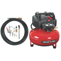 Porter Cable -  150 PSI 6 GAL OIL-FREE PANCAKE COMPRESSOR - C2002