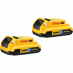 DeWalt -  20V MAX Li-Ion Compact Battery Pack with Bluetooth Technology 2-Pack (2.0 Ah) - DCB203BT-2