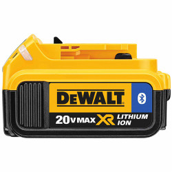 DeWalt -  20V MAX Li-Ion Battery Pack with Bluetooth Technology (4.0 Ah) - DCB204BT