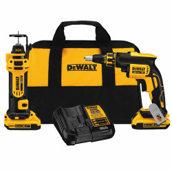DeWalt -  20V MAX 2 Tool (DCF620 & DCF886) w/ 2 Batteries (2.0Ah) and Bag - DCK263D2