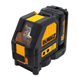 DeWalt -  12V Compatible Cross Line Laser - Red Beam - DW088LR